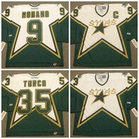 anti star - 2016 Mix Order Dallas Stars Men s Mike Modano Jerseys TURCO ICE Hockey Jersey Embroidery Cheap Throwback CCM Jerseys