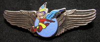 air force metals - The United States Air Force Memorial badge wings of the Flying Tigers of the Hells Angels Squadron