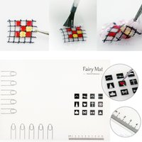 artist stamps - Nail Art Manicure Silicon Mat for Nail Stamping Reverse Stamp Water Marble Nail Artist Practice Workspace Pad