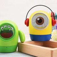 aes usb - Bluetooth mini speaker JY WT audio stereo Bass speakers with TF USB card fuction Mic Hands free Built in lithium battery