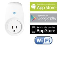 automation control electronics - Wi Fi Smart Switch for Controlling Electronics and Monitoring Energy Usage with Home Automation App for Smartphones White