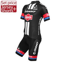 Wholesale GIANT Pro Team alpecin Cycling Short Sleeves Clothing Sets MTB Road Jersey Kits Maillot Culote Ninos Ropa Ciclismo Hombre Mujer