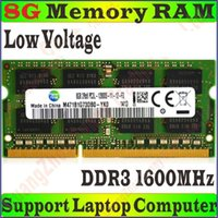 Wholesale Low Voltage Samsung Memory RAM PC3L g GB g GB DDR3L MHz FOR Laptop Notebook PC Compatible MHz PC3L S PROM5