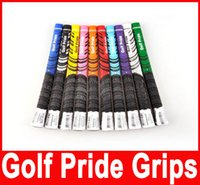 golf grip - Golf Pride Grips Golf Grips For Golf Driver Grips Golf Clubs Golf Rubbers Colors Fairway Woods Irons golf Clubs Grip New