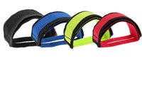Wholesale Fixed Gear Bike Anti slip Double Adhesive Straps Pedal Toe Clip Strap Belt