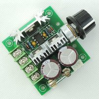 Wholesale DC V V A W PWM Motor Speed Regulator Controller Switch khz