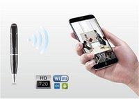 Wholesale 5pcs Mini Spy DVR Business Portable HD P Hidden Video Recorder Spy Pen Wifi Pen Camera