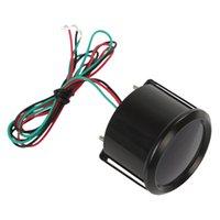 auto meter tacho - Inch mm Black Digital Blue LED Boost Water Oil Temperature Temp Press Volt Tacho Gauge Meter for Auto Car Motorcycle