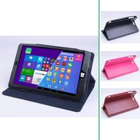 Wholesale Folio PU Leather Case Folding Stand Cover For Chuwi Vi8 Super Dirt resistant Function Protected Your Tablet Hot Sale