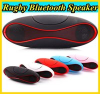 answer sound - Newest Football Stereo Speaker Subwoofers Mini Bluetooth Speaker Rugby Soccer Portable Music Wireless Support Answer Calling