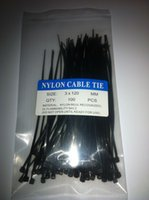 Wholesale 3 MM Nylon Cable tie Black
