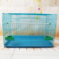 Wholesale Small Large Pet Rabbit Cages Pet Supplies Bird Totoro Squirrel Hamster Transport Cage by DHL EMS