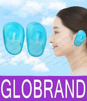 Wholesale Hair Dye Clear Blue Ear Cover New Styling Accessories Free Anti Staining Earmuffs Protect New Hair Products GLO118