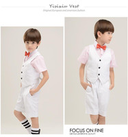 Wholesale Boys Formal Wear Kid Suits Children Wedding Suit Boys Evening Suits Groom Tuxedos