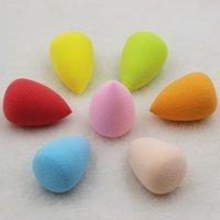 Wholesale 100pcs Face Bottle Gourd Sponge Flawless Smooth Pro Beauty Makeup Powder Puff Mix Colour Women Gift
