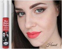 the balm cosmetics - NEW The Balm Meet Matt e Hughes Long Lasting Liquid Lipstick Cosmetics Girl Beauty Makeup DHL Fast shipping