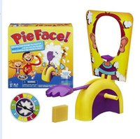 Wholesale Korea Running Man Pie Face Game Pie Face Cream On Her Face Hit Rocket Games Xmas gift pie face toys without logo KKA971
