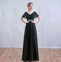 Wholesale 2016 evening dress bridesmaid dress big yards pregnant women significantly elongated section In Stock Special Occasion Dresses