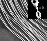 asian wedding supplies - Explosion models S925 silver jewelry supply chain necklace with Ms clavicle chain jewelry silver MM box chain