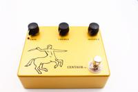Wholesale Klon Centaur Overdrive Pedal Serial Clone Golden shell version guitar effect pedal