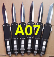 Wholesale microtech troodon A07 models Hunting Folding Pocket Knife Survival Knife benchmade Xmas gift for men copies freeshipping