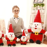 Wholesale cm cute Santa Claus doll creative children toy doll toys Christmas gift gift prizes