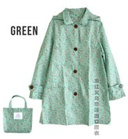 Wholesale Cute Women Raincoat Waterproof Trench Jackets For Women Breathable Rain Ponchos Coat Female Chubasqueros Impermeables Mujer