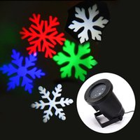 Wholesale Snow Sparkling Landscape Xmas laser lights White RGB Waterproof indoor outdoor Projector Light Party holiday decoration
