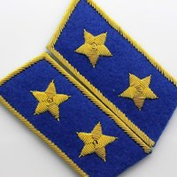 air force generals - Spot Gold Wire Embroidery Silk Import Pin Props And Type Air Force General Blue Collar Phnom Penh