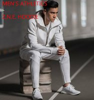 athletic coats - NEW MEN S ATHLETICS Z N E Z M E ZNE HOODIE Good quality coat Sweater Pullovers