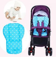 Wholesale Fashion Colorful Baby Pram Mat Car Stroller Seat Cushion Thick Cotton Pushchairs Pad Wh