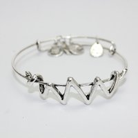antique flash - 2016 Cheap antique silver adjustable alex and ani bangle bracelet for women flash lightning fast shipping hours