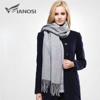 best acrylics - 2016 New Luxury Scarf Winter Women Scarf Female Cotton Solid Scarf Best Quality Pashmina Studios Tassels Women Wraps