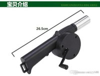 Wholesale factory selling Hot Manual blower barbecue with a hair dryer hand blower outdoor barbecue supplies barbecue blower