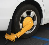 trailer wheel lock - Anti Theft Wheel Lock Clamp Boot Tire Claw Parking Car Truck RV Boat Trailer