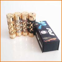 Wholesale AV Able Mod Avid Lyfe Hollowed Full Mechanical Mod Clone fit Battery Mech Mod Thread