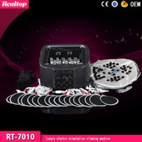 Wholesale 2016 Professional made in China mini electronic muscle stimulator beauty equipment electric muscle stimulation weight loss machine