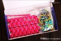 Cheap New Arrival Frozen Fun colourful loom bands DIY bracelets rubber rainbow band Anna Elsa bracelet toy for children child free shipping