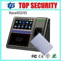 Wholesale Face Fingerprint RFID card time attendance and access control system TCP IP linux system employee attendance iface503 users
