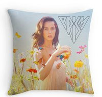 beauty album - Pretty cool Katy Perry album Prism Tattoos Square Zippered Throw Pillowcase Beauty Decorative Cover Twin Side Print