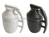 Wholesale Pineapple Hand Grenade Designed Ceramic Mug Cup Novelty Grenade Tea Cup