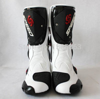 Wholesale hot sale motorcycle boots Motocross boots profession speed racing waterproof motorbike boots colors