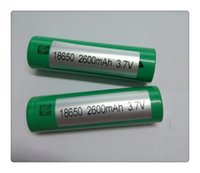 Wholesale HOT Battery R High Drain Rechargeable Fedex For e cigarette Electronic cigarette can charger Batteries
