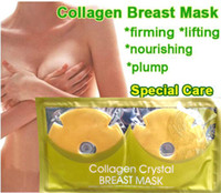 breast firming - Women Special Care Crystal Collagen Breast Mask Firming Lifting enlargement Plump Nourish Whitening enhance chest elastic