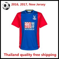 active eagle - 2016 Crystal Palace Jersey Crystal Palace The Eagles camisas Yohan Cabaye Bolasie McArthur Wickham Home Football Shirt Kit Top Qu