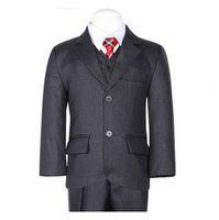 Wholesale New fashion Boy s Formal Wear high quality three boy suit two button performance boys wear