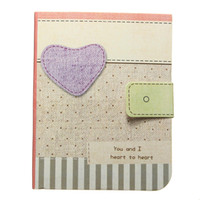 best writing paper - Best Colorful Cute Heart Notebook Hardback Writing Paper Diary Journal Memo Notepad Color Randomly School Office Stationery