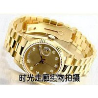 auto cheap - 2016 Hot gold good man with brand new drop shipping Mechanical cheap High quality Automatic master men watch luxury sports Men s Watches