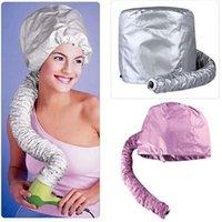 Wholesale Colour the Hair Hat Hair Drier Treatment Cap DIY Color Hair Hat Safe Salon Hair Treatment Hat