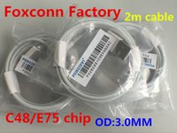 adapter chip - 100pcs m FT Genuine Original From Foxconn Factory e75 Chip mm Data USB Cable For IP5 IP6 SE CABLE ADAPTER